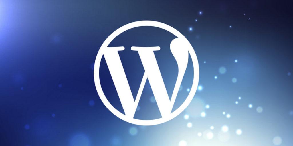 First wordpress website