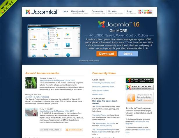 Joomla Contnet Management System