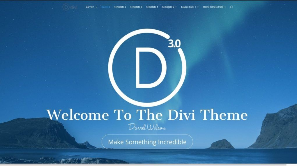 world best theme most using in the world divi theme