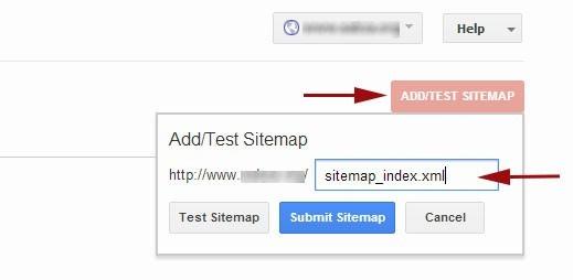 sitemap issue in wordpress CMS