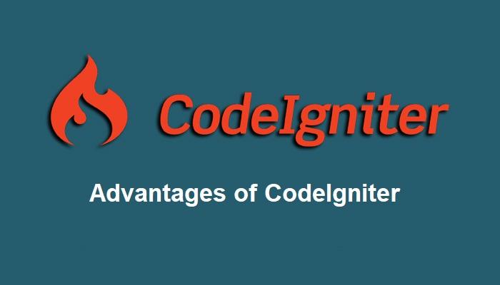 Advantages of codeigniter php framework