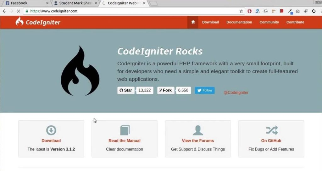 CodeIgniter - necessities, and installation