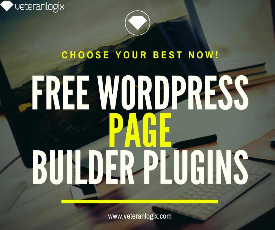 Free wordpress page Builder 2020