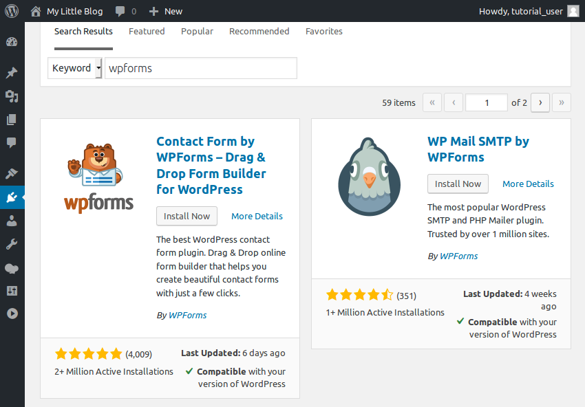 Make a contact form using wpbakery