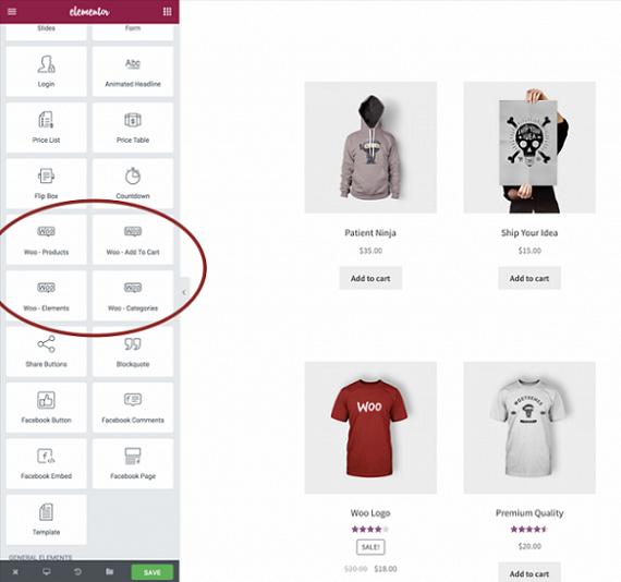 create your online store using elementor page builder