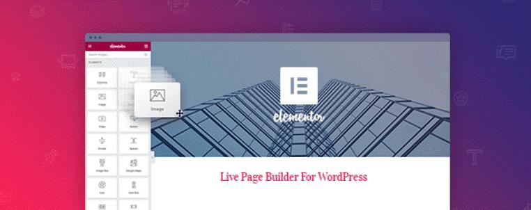 elementor wordpress page builder