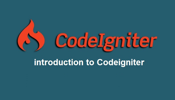 introduction of codeigniter